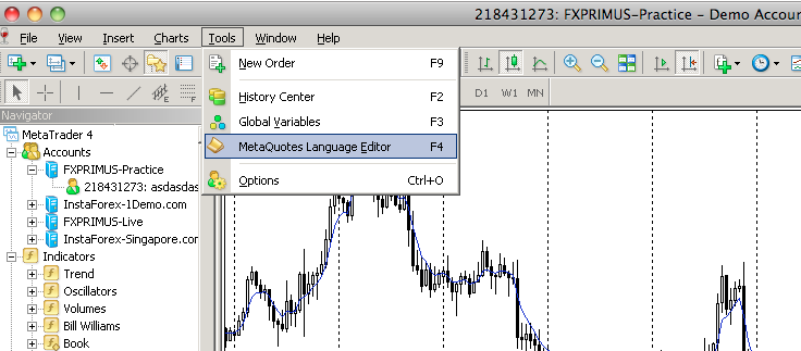 How to use MQ4  mq4 in Metatrader 4 - How to install an EA in MT4